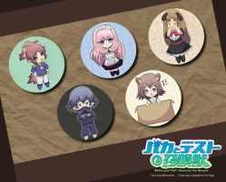 Baka to Test Fan art Badge by MinamiAki