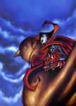 SPAWN OVER DOVE STATUE by raulman