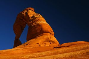 DELICATE ARCH LANDSCAPE by ScarredWolfphoto