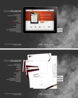 temporary portfolio another concept by michalkosecki