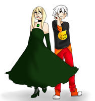 Maka And Soul by ILikeAppleSauce0