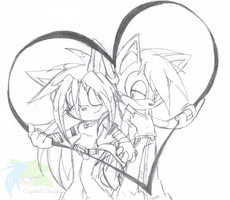 ::WIP:: Vanessa and Richie by Crystalhedgie