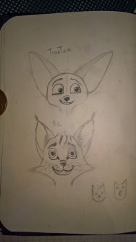 ToasTee and Me (Sketch) by gfcwfzkm