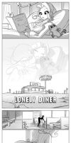 Lonely Diner by jollyjack