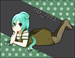Vocaloid- Hello, How Are you by niaro