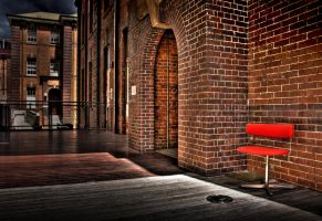 Red Chair by sdeeth