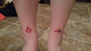 Assassins / Abstergo tattoo by Styl-Fly