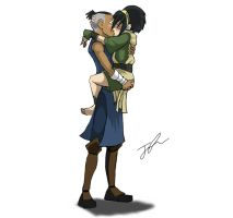 Tokka - now THAT is a hug by Devfrost2000