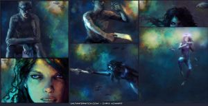 Saltwater Witch panels by the0phrastus