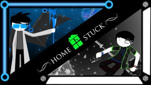 Collab Wallpaper with JC :Homestuck: by Reyzuken