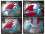 Salamence plush by LRK-Creations