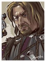 Boromir Portrait by solidasp