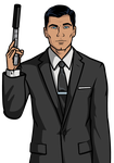 Sterling Archer by flash-gavo