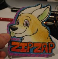 zipzap badge by zipzap-rai