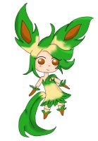 Leafeon by Naomz