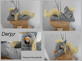 Derpy Beanie Plush by Varonya