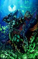Spawn by Marvelmania Color Battle 14 by Crayola-madness