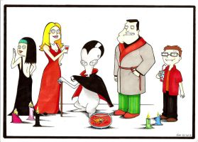 American dad Vampire by Pikamine