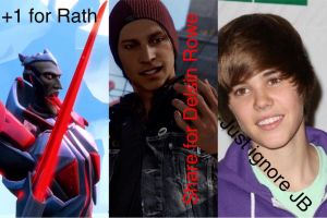 My loves and I hate Justin Bieber meme by ZombieLover93
