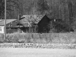 Old Time Home by JeremyC-Photography