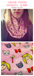 Sailor Moon Infinity Scarf by Sacari