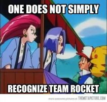One does not simply... Team Rocket by TheGreatPikminZX