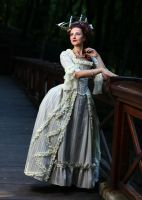 Rococo costume Marie-Antoinette inspired) by Ryzhervind