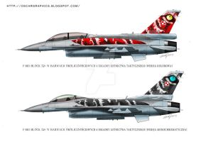 F-16 block 52 by oscargraphics