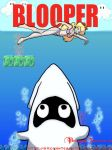 Jaws in the Mario universe by BrokenTeapot