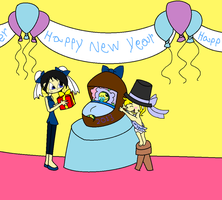 Welcoming the New Year by Obeliskgirljohanny