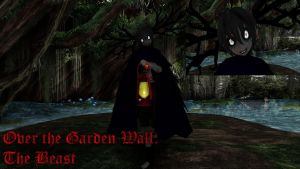 Over the Garden Wall: The Beast MMD Model DL by Allena-Frost-Walker