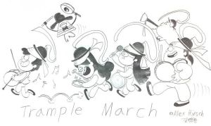 Trample March by komi114