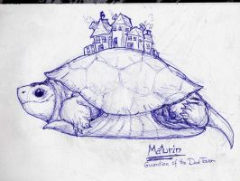 Maturin, guardian of the Tower by LadyFiszi
