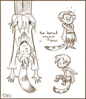 Lil' Lutin Doodles 2 by Inonibird
