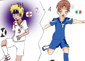 Italy-England - Hetalia version by Mizuka-san