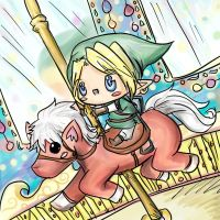 Link's Favorite Ride by awisha-teh-ninja