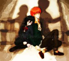 IchiRuki- The Empty Shells by xmusettex
