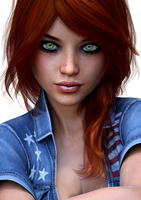 Casey Reed Face HD by REDANTA