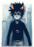 Karkat by Sylladexter