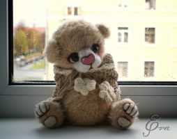 sweet teddy bear by Eva-Lavini
