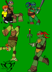 First attempt at TMNT Nick by AngelRaiRay