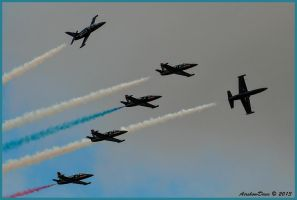 Patriots Break Miramar 2012 by AirshowDave