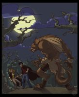 Harry Potter and the Werewolf by zazB
