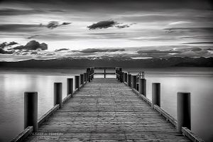 Tahoe Pier by LeashaHooker