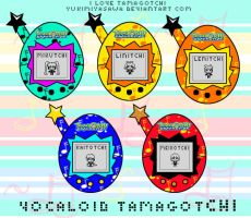 Vocaloid Tamagotchi Version by YukiMiyasawa