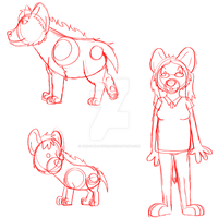 4-16-2015 Sketches by The-Smile-Giver