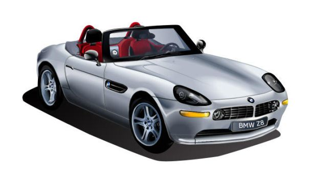 Tracing and Blending BMW Z8 by snowdrop7