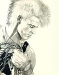 Billy Idol Portrait by choffman36
