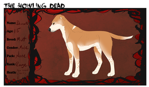The Howling Dead: Demon Application by Whitelupine