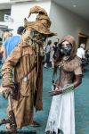 Scarecrow and Mistress of Fear at SDCC by beckyalbright